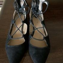 Shoes Black Flats Size 6 Express Photo