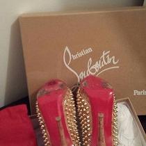 Shoes Christian Louboutin Gold  Photo