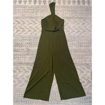Shona Joy Core Olive Green Jumpsuit Sz Us 6 Photo