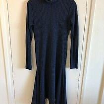 Shona Joy  Navy Blue Dress Size 10 Euc  Express Tracked Post Included  Photo