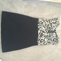 Short Leopard and Black Dress M Photo