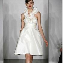 Short Wedding Dress by Amsale Style Krista Photo