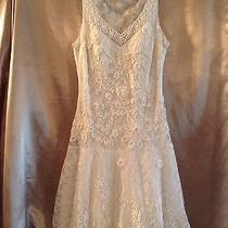 Short Wedding Dress Size 4 Photo