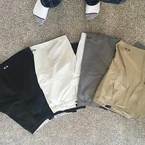 Shorts Oakley Mens Golf Size 38 Lot of 5  All Vgc 2 Black Light Beige Gray Tan Photo