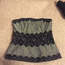 Shoshanna Black Lace Corset Size 4 Photo