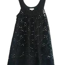 Shoshanna Black Lace Swimsuit Coverup S Photo