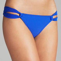 Shoshanna  Blue Cobalt Solid Bikini  Bottom S Photo