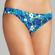 Shoshanna  Blue Floral Bikini  Bottom S Photo