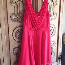 Shoshanna Gorgeous Rare  Hard to Find  Red Dress  Size 10 Nwt Photo