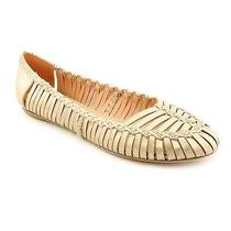 Sigerson Morrison Brian Womens Size 9.5 Beige Leather Flats Shoes New/display Photo