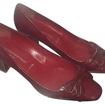 Sigerson Morrison Oxblood Pumps in Vogue Red Size 7 Photo