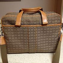 Signature Coach Briefcase Laptop Case Handbag Tote Photo