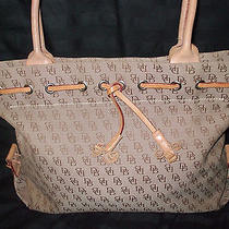 Signature Dooney & Bourke Brown Tote Photo