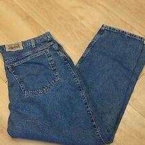 Signature Levi Strauss Men's 545 Loose Fit Taper Leg Blue Jeans Size 40 X 30 Photo