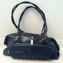 Sigrid Olsen Black Purse Pocket Book Hobo Handbag Evening Baguette Photo