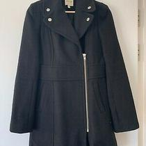 Silence  Noise by Urban Outfitters Ladies Black Coat Size Small S (Uk 6-10) Photo