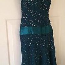 Silk Bebe Sequin Dress Xs Photo