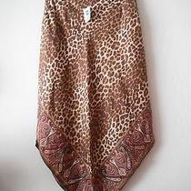 Silk Skirt by Gap Size 2 Animal Print /paisley Print Photo