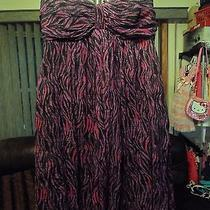 Silk Strapless Baby Doll Homecomeing Dress Size Xs Photo