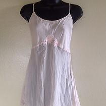 Silk Victoria's Secret Sexy Nightie Blush Pink Size Medium Photo