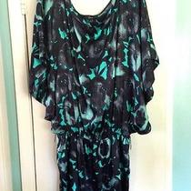 Silken Turquoise Dress L Photo