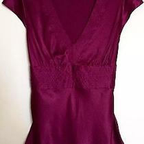 Silky Express Red Violet Top M Photo