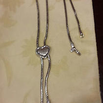Silver Brighton Chain Belt/necklace - Adjustable One Size Fits All Photo