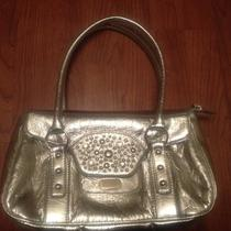 Silver Handbag Purse Boutique Excellent Cond. Free Shipping Photo