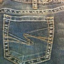 Silver Jeans Aiko Boot Cut Medium Wash Sz W31/l33 Free Shipping Photo