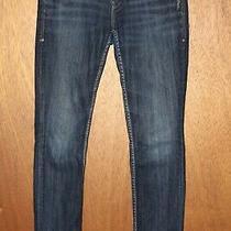 Silver Jeans Aiko Skinny 29 X 28 Dark Wash Stretch Denim   Photo