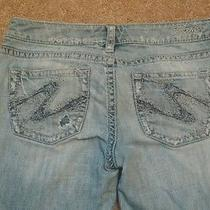 Silver Jeans Company Aiko Bootcut Jeans 29x31 Lightly Distressed Photo