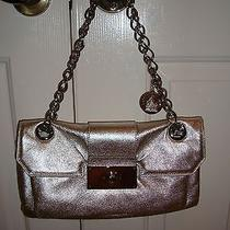 Silver Lanvin Barney's Metallic Bag Photo