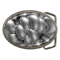 Silver Metal Fantasy Art Belt Buckle Photo