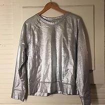 Silver Metallic Acne Sweater Photo