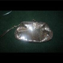 Silver Sequined Coach Clutch Photo