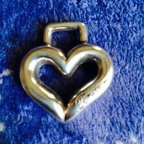 Silvertone Heart for Brighton Hang Tag Photo