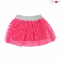 Silvian Heach Bebe Tutu Skirt Size 3-6m Glittered Polka Dot Pattern Photo