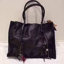 Simone Camille Leather Black