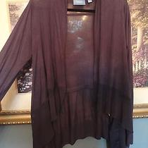Simply Vera by Vera Wang See Delicate Cardigan Sweater Wrap Sz M (Pristine) Euc Photo