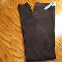 Simply Vera Vera Wang Black Micro-Suede Leggings Size Small Nwt Photo