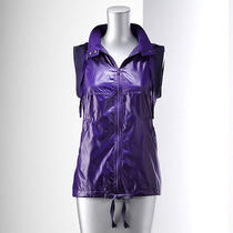 Simply Vera Vera Wang Hooded Taffeta Vest  Photo