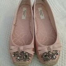 Simply Vera Vera Wang Madey Blush Espadrille Women's Flats Shoes Size 6m Euc Photo