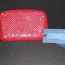 Simply Vera Vera Wang Red Shitake Wallet Nwt Msrp 49 Photo