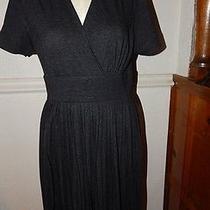Simply Vera Vera Wang Size Medium Dress Charcoal Gray Dress  Photo