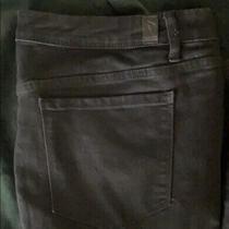 Simply Vera Vera Wang Skinny Jeans Plus Size 24 Black Mid Rise Stretchy Denim Photo