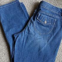 Simply Vera Vera Wang Straight Stretch Jeans (34 1/2 X 25 1/2)  Size 14 S Photo