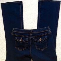 Simply Vera Vera Wang Sz 2p Short Women's Dark Wash Jeans Photo