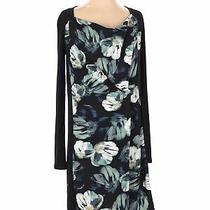 Simply Vera Vera Wang Women Black Casual Dress S Photo
