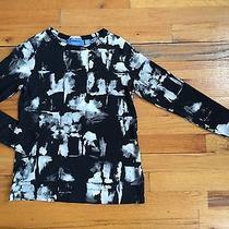 Simply Vera Wang 100% Cotton Long Sleeve Tee T Shirt Graphic Print Sz Pxs Photo