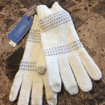 Simply Vera Wang Beautiful White Gloves. New With Free Shipping Photo